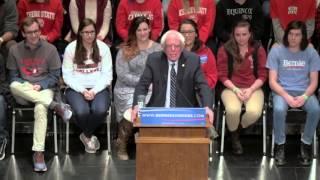 Bernie Sanders Rally - Keene NH - December 5, 2015