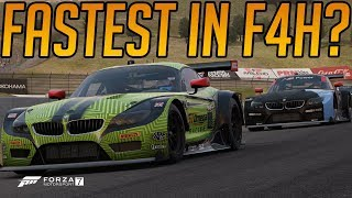 Forza 7 Who is the Fastest F4H Member?