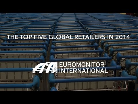 The Top Five Global Retailers in 2014