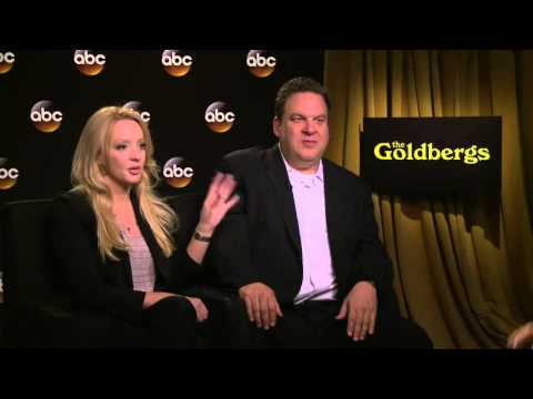 The Goldbergs' On ABC  Jeff Garlin & Wendi McLendon Covey Interview