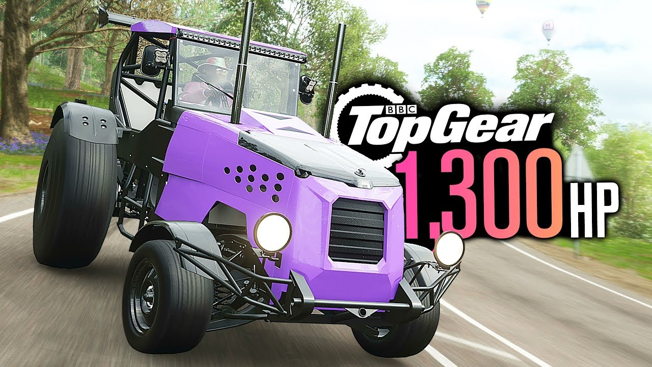Forza Horizon 4 - 1300HP Top Gear TRACK-TOR Build! thumbnail