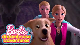 BARBIE RUNS FROM THE SCARY GHOST! 👻 | Barbie Dreamhouse Adventures | @Barbie
