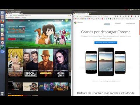 Reproducir Netflix Ubuntu 16.04