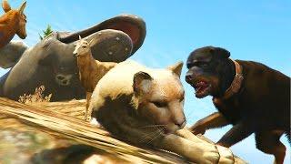 GTA 5 Mods - ANIMAL FIGHT CLUB MOD! (GTA 5 PC Mods)
