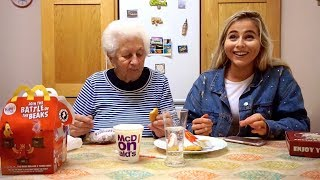Hilarious Gran Tries Mcdonalds For First Time