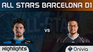 xPeke vs Aphromoo 1 vs 1 All Stars Barcelona 2016 D1