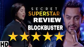 Secret superstar Review | First day first Show movie Review, Story, Starcast, Amir Khan, Superhit