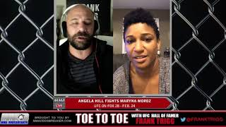 Frank Trigg pre-fight interview with UFC on FOX 28's Angela Hill