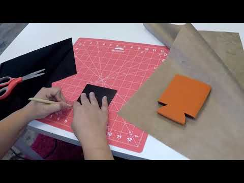 Craftmas Episode 15: Decorating A Koozie For Halloween