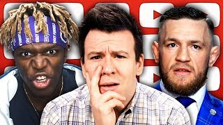 Conor McGregor Sucker Punches Old Man, KSI vs Logan Paul 2, Israel Bars US Congresswomen, & More...