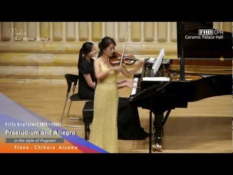 Praeludium and allegro (in the style of Pugnani) Fritz Kreisler - Vn. Yang Kowoon