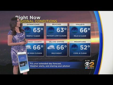 Amber Lee's Weather Forecast (Nov. 12)
