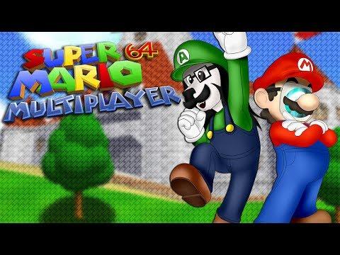 SUPER MARIO 64 EN COOP ! - Super Mario 64 Multiplayer