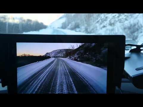 Монитор AutoExpert DV-550 и камеры заднего вида AutoExpert