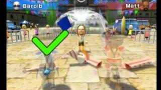Wii Sports Resort- Sword Play Speed Slicing: Barolb VS Champion Matt