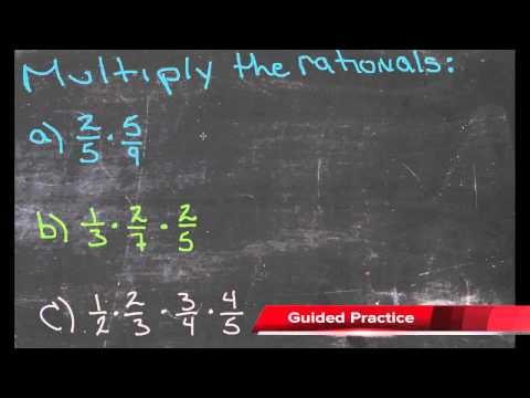 Multiplication of Rational Numbers   CK-12 Foundation