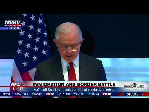 WATCH: Attorney General Jeff Sessions Report On Illegal Immigration Crime