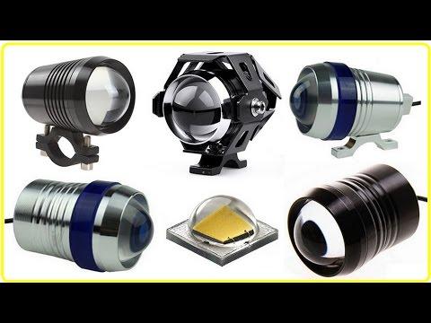 Обзор популярной Мото LED фары Линза