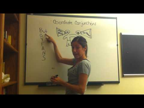 EIGHT PARTS OF SPEECH #9 - CONJUNCTION