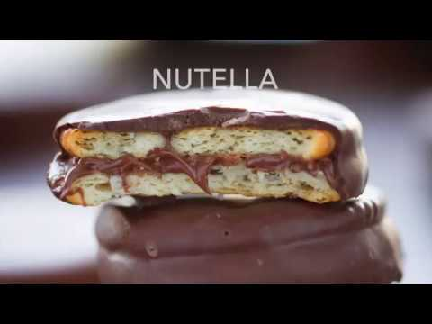 Chocolate Covered Ritz Cracker Sandwich FOUR Different Ways!