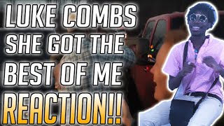 Luke Combs - She Got The Best Of Me Reaction Video Video