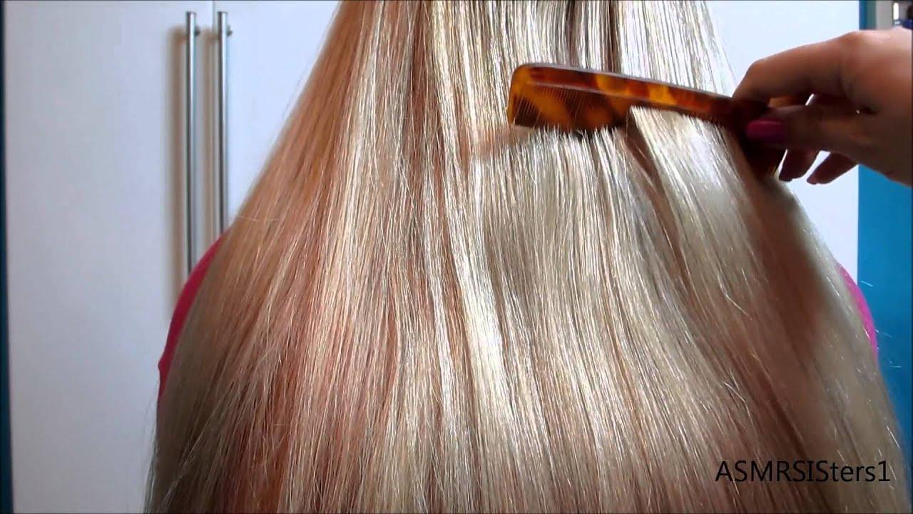 ASMR Hair Brushing - YouTube