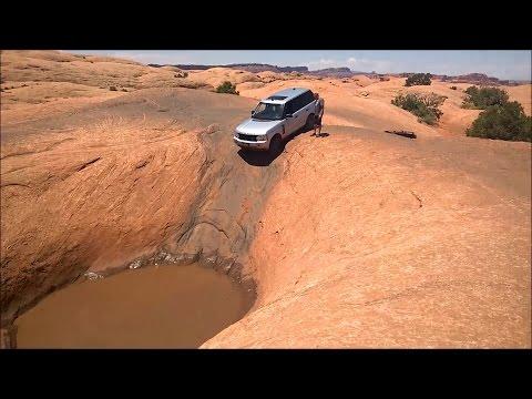 Range Rover on Hell's Revenge - Moab Offroad GoPro