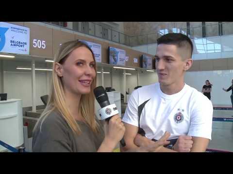 Polazak Fudbalera FK Partizan Na Utakmicu LE U Kazahstan
