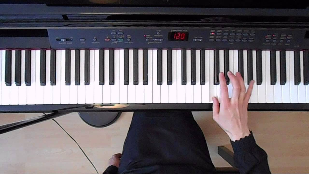 B Flat Chord Piano Left Hand Online Piano Lessons: ...