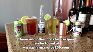 PharmaVOICE100 Mule - Signature Cocktails Demonstration