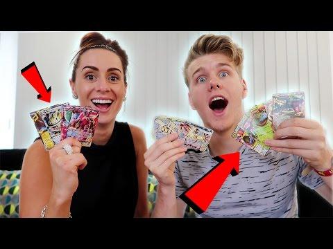 Unbelievable Pokemon Card Opening! w/ My Sister