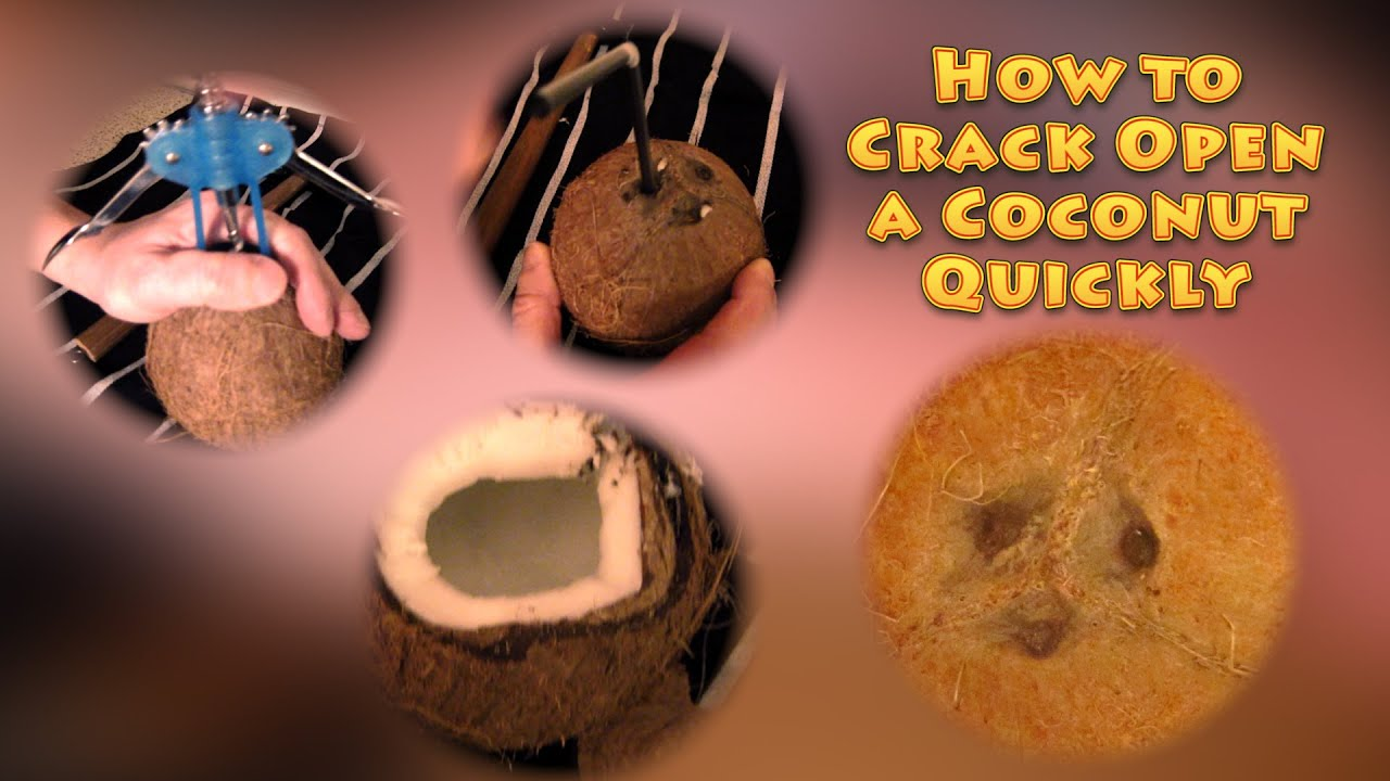 How to crack coconut