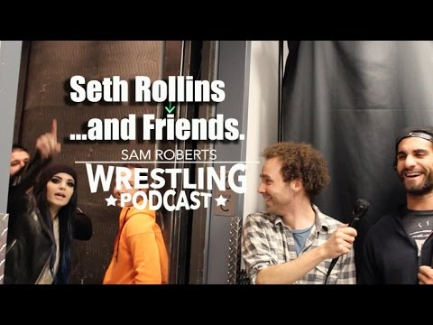 Seth Rollins Interview- Sting..then Paige & Kevin Owens Inte