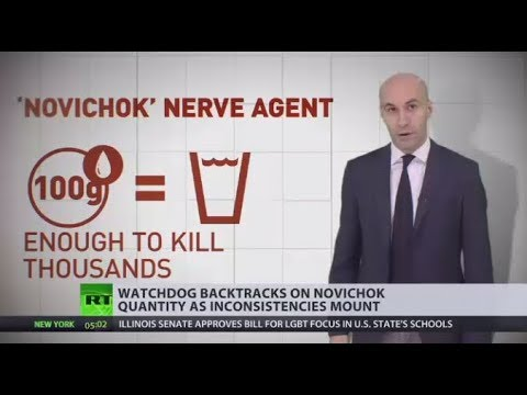 OPCW corrects its own chief's bizarre claim that '50-100 grams of Novichok' were used on Skripals