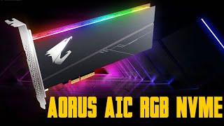 [Cowcot TV] SSD AORUS AIC RGB NVMe pour le plaisir