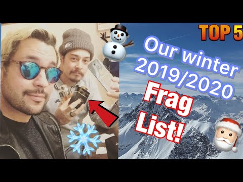 Our Top 5 2019 Winter Fragrance List!!!