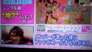 AKB48 シングル曲神7ランキング 2位~1位