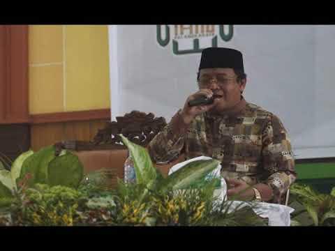 KH. Muamar ZA - Heningkan Aula IAIN Palangka Raya Dalam Acara Haflah Tilawatil Quran