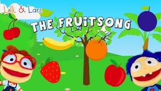 FRUIT SONG for children with lyrics - original nursery rhymes songs