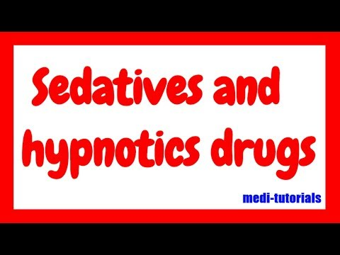 Sedatives And Hypnotics Drug | CNS Pharmacology | Barbiturates | Medi Tutorials