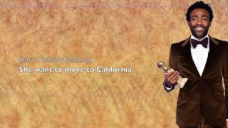 Childish Gambino - California - Lyrics
