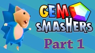 Gem Smashers | Part 1 |  The ORIGINAL fast action puzzle game