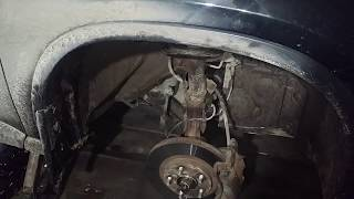 Nissan X-TRAIL T31 Замена стоек стабилизатора