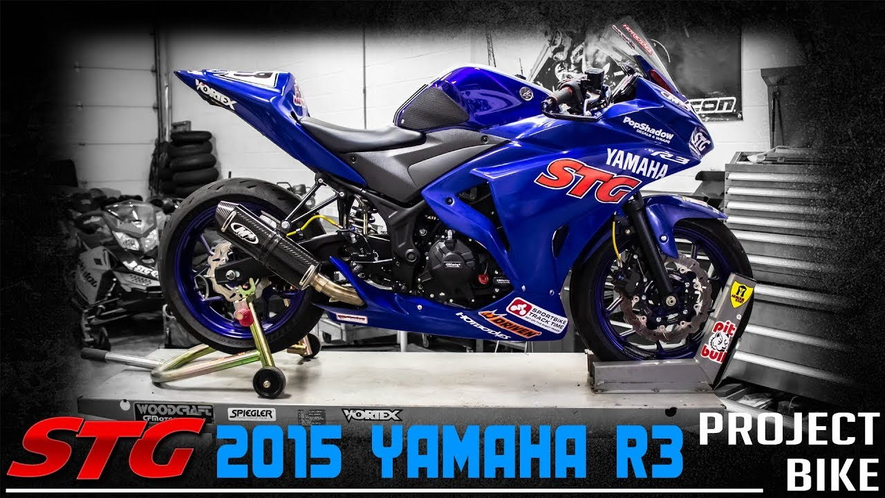 2015-2018 Yamaha R3 STG Project Bike