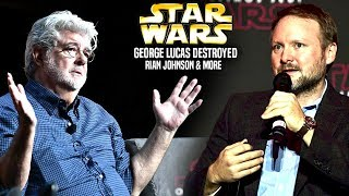 George Lucas Just Destroyed Rian Johnson! (Star Wars Explained)