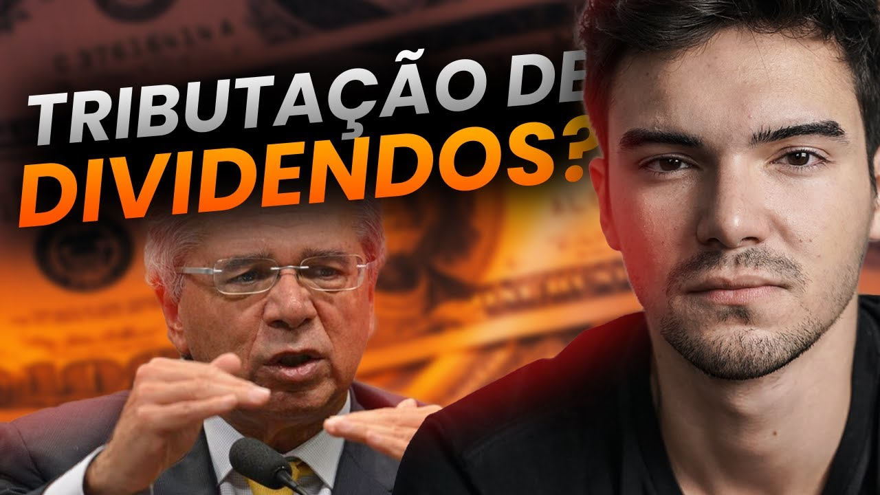 INVESTINDO 54K NA PRÁTICA depois de Paulo Guedes falar que vai TRIBUTAR dividendos