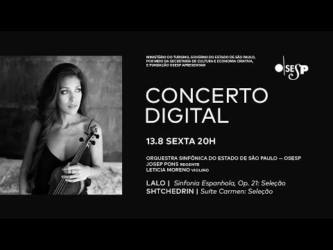 Concerto Digital: Obras de Lalo e Stchedrin