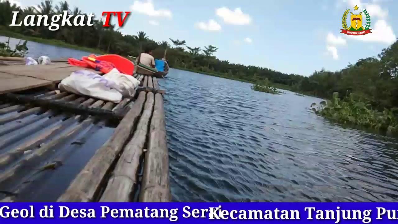 Nikmati Objek Wisata Getek Geol di Tanjung Pura, Langkat