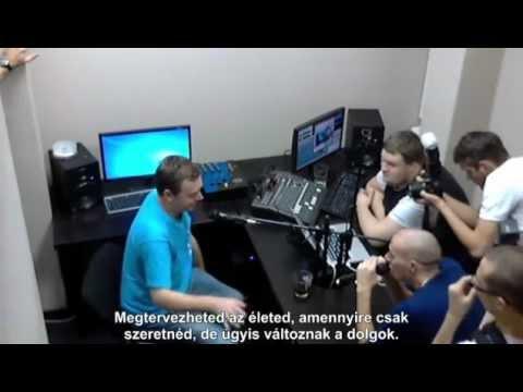 Nick Warren interjú a Poplife stúdióban