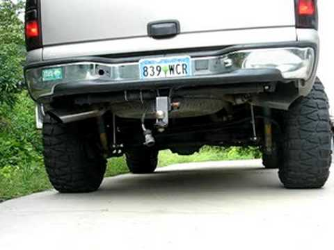Chevy tahoe exhaust youtube publicscrutiny Images